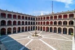 Nationaler Palast in Mexiko City Lizenzfreie Stockbilder