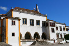 Nationaler Palast in Sintra Lizenzfreie Stockfotos