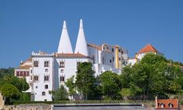 Nationaler Palast von Sintra Lizenzfreie Stockfotografie