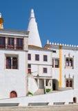 Nationaler Palast von Sintra, teilweise Ansicht Lizenzfreies Stockbild