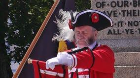 Nationaler Stadt-Ausrufer Competition hielt Exmouth Devon in Süd- West-England-Sommer 2018 stockbilder