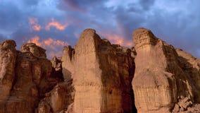 Nationaler Timna-Park, gelegen nördlich Elats lizenzfreie stockbilder