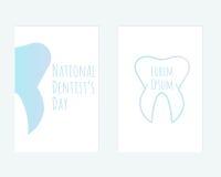 Nationaler Zahnarzt ` s Tag Stockfotos
