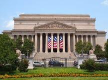 Nationales Archiv, das USA errichtet Lizenzfreies Stockbild
