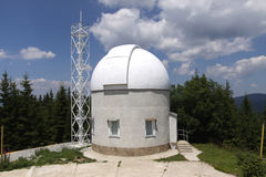 Nationales astronomisches Observatorium Bulgarien Lizenzfreie Stockfotos