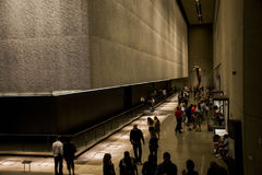 Nationales Denkmal 9 11 New York City USA 25 05 2014 Lizenzfreie Stockbilder