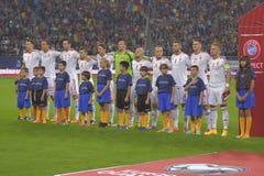 Nationales Fußballteam Ungarns Lizenzfreie Stockfotos