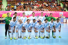 Nationales futsal Team Guatemalas Lizenzfreies Stockfoto