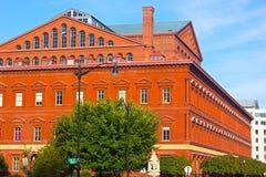 Nationales Gebäude-Museum im Washington DC Stockfotografie