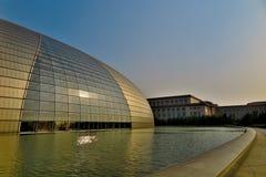 Nationales großartiges Theater in Peking Lizenzfreie Stockfotografie