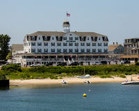 Nationales Hotel, Block-Insel, RI Stockbild