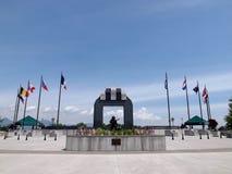 Nationales Invasionstag-Denkmal, Bedford, VA, USA lizenzfreie stockbilder