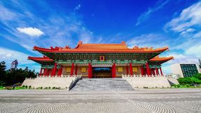 Nationales Konzertsaal bei Chang Kai Shek (CKS) Memorial Hall, Taiwan stock footage