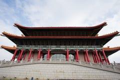 Nationales Konzertsaal in Chiang Kai Sek Memorial Park lizenzfreie stockfotografie