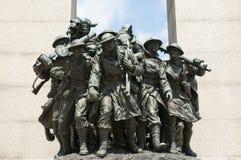 Nationales Kriegs-Denkmal - Ottawa - Kanada stockfotografie