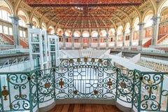 Nationales Kunst-Museum Innenbarcelona Spanien Stockbilder