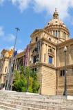 Nationales Kunst-Museum von Katalonien Stockfoto