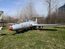 Nationales Luftfahrt-Museum - altes Militärflugzeug stockfotografie
