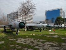 Nationales Luftfahrt-Museum - Flugzeuge lizenzfreie stockbilder