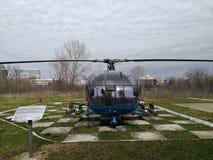 Nationales Luftfahrt-Museum - Hubschrauber stockbilder