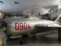 Nationales Luftfahrt-Museum - Militärfläche stockbild