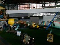 Nationales Luftfahrt-Museum - Militärflugzeug stockfotografie