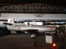 Nationales Luftfahrt-Museum - Militärflugzeug stockbilder