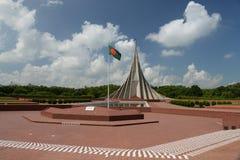 Nationales Märtyrerdenkmal Savar, Savar stockbild