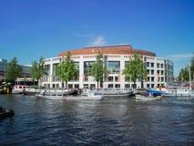 Nationales Opern- und Balletttheater von Amsterdam lizenzfreies stockbild