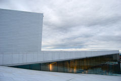 Nationales Oslo-Opernhaus Stockbild