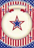 Nationales Plakat von US Lizenzfreie Stockfotografie