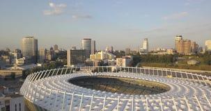 Nationales Sport komplexes ` olympisches ` Stadion, olympische Pixel 4k 4096 x 2160 stock video footage