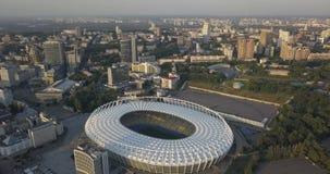 Nationales Sport komplexes ` olympisches ` Stadion, olympische Pixel 4k 4096 x 2160 stock video