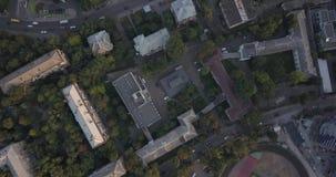 Nationales Sport komplexes ` olympisches ` Stadion, olympische Pixel 4k 4096 x 2160 stock footage