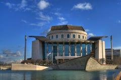 Nationales Theater in Budapest Stockbilder