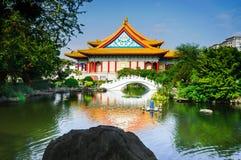 Nationales Theater-Chiang- Kai-shekdenkmal Taiwan Stockfoto