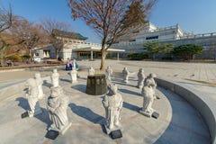 Nationales Volksmuseum Dezembers 6,2017 von Korea lizenzfreies stockbild