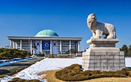 Nationalförsamling av Seoul Arkivfoton