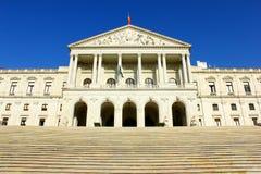 Nationalförsamling Lisbon, Portugal Fotografering för Bildbyråer