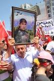 Nationalist Turkish Demonsration Royalty Free Stock Photo