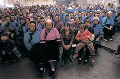 Nationalité de Han dans la porcelaine de sud-ouest Photographie stock libre de droits
