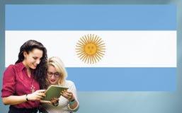 Nationalité Liberty Concept de pays de drapeau d'Agentina Image stock