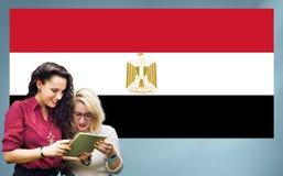 Nationalité Liberty Concept de pays de drapeau de l'Egypte Photographie stock libre de droits