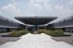 Nationalmuseum der Anthropologie-Piazzas, Mexiko City stockbild