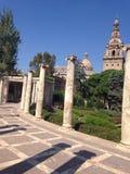 Nationalmuseum der Kunst in Barcelona Stockbild
