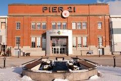 Nationalmuseum des Pier-21 der Immigration Lizenzfreies Stockfoto