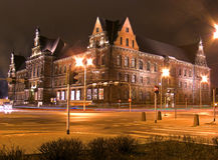 Nationalmuseum im Wroclaw Lizenzfreie Stockfotos