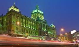 Nationalmuseum in Prag Stockbilder