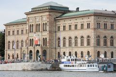 NationalMuseum, Stockholm, Schweden Lizenzfreies Stockbild