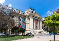 Nationalmuseum und Akademie von schönen Künsten Academia de Bellas Art Stockbild